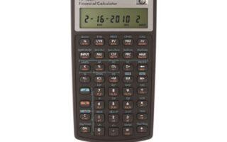 Comment Utiliser une Calculatrice Financière