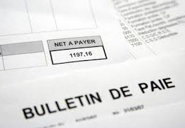 bulletin paye comptable