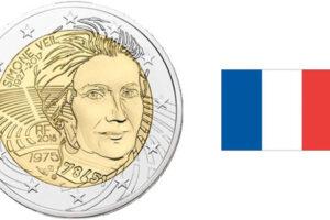 Pièce de 2 euros Simone Veil